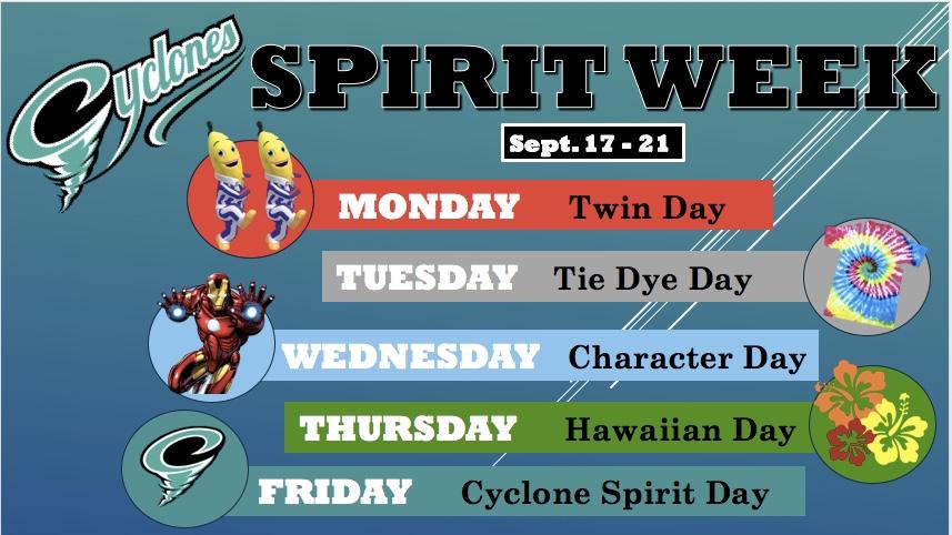 Cyclone Spirit Week!