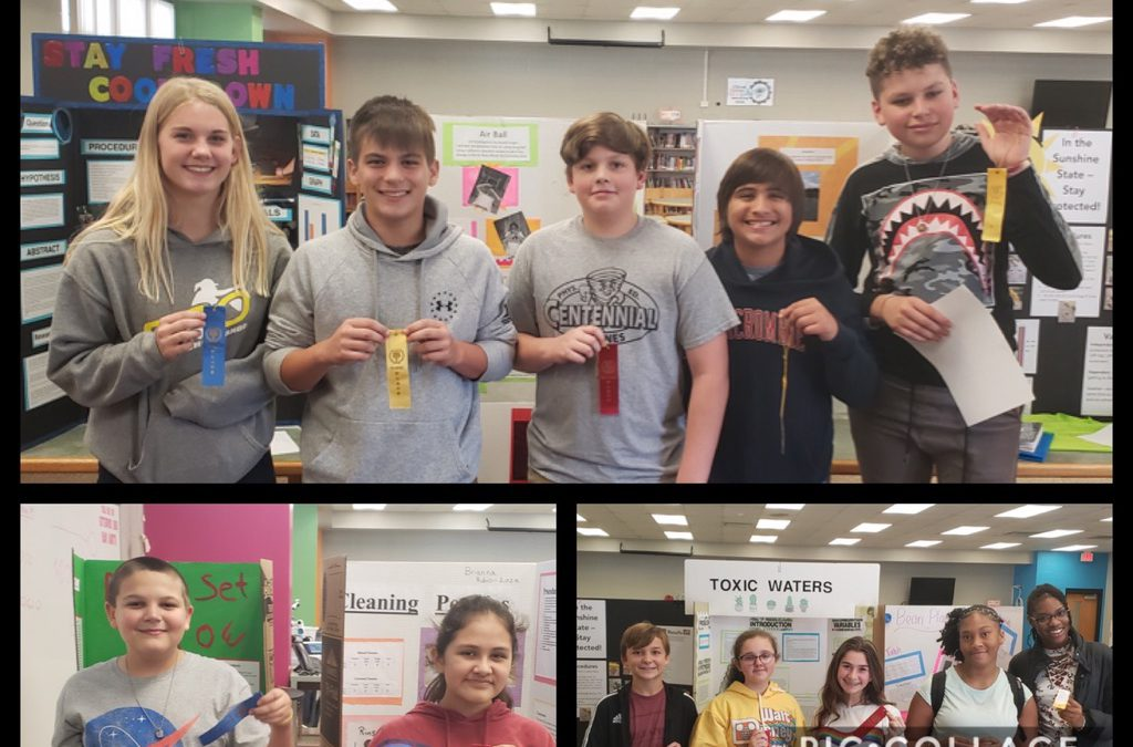 Congrats to Our Science Fair Winners!