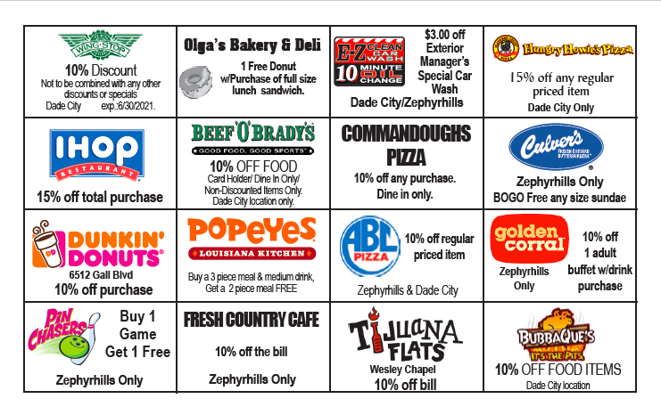 CENMS $10 Discount Cards are Back!